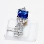 HJ2508 - Sapphire n Diamond