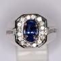 HJ2510 - Blue Sapphire