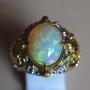FQ15 - White Opal