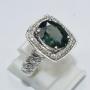 GR1837 - Elegant Green Sapphire Ring