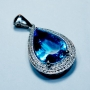 KGH001 - Medium Blue Topaz