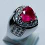 ILY024 - Love ring Ruby
