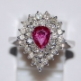 RDI3101 - Elegant Ring Ruby