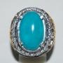 SATQ11 - Blue Turquoise Ring